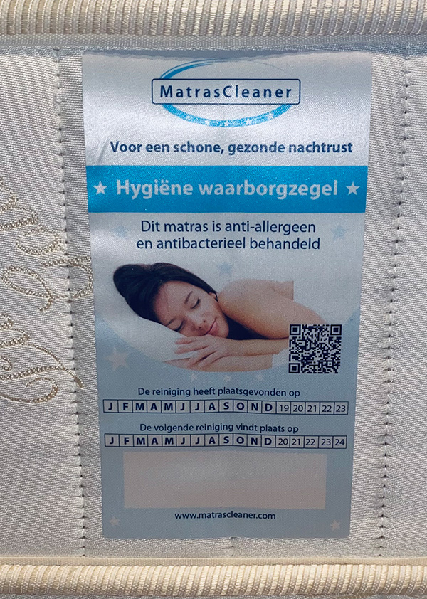 Hygiene zegel